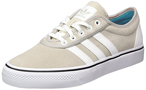 adidas Herren Adi-Ease Low-Top Beige (Ftwr White/Mist Stone F15-St/Shock Green S16)