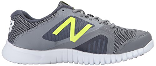 New Balance Mens 613v1 Cross Training Shoe Grey/Yellow