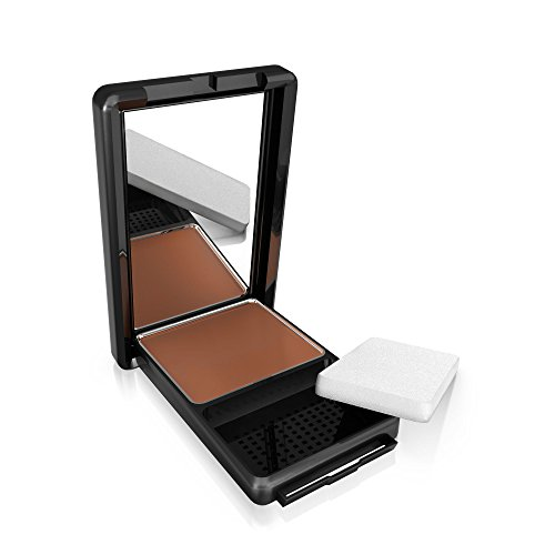 CoverGirl Queen Collection Natural Hue Compact Foundation, Spicy Brown 545, 0.4 Ounce Compact by COVERGIRL