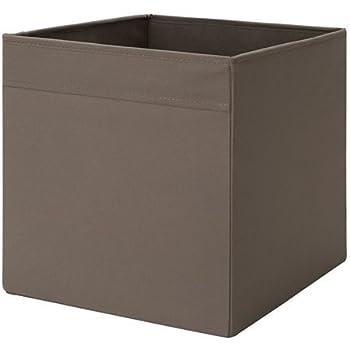ikea regalfach dr na aufbewahrungsbox regaleinsatz in 33x38x33 bxtxh mit rosenmuster amazon. Black Bedroom Furniture Sets. Home Design Ideas
