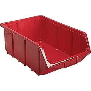 Terry Plastics Te111 Rouge Ecobox L111 X l68 X H75mm, 1 Unité