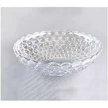Corbeilles à fruits Utilisation créative de cadeau de plat de fruit de verre  en cristal découpé 9067010fce54