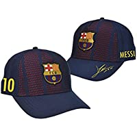 Gorra FC. Barcelona - Producto Oficial Licenciado - Player Messi-18 - Talla Adulto