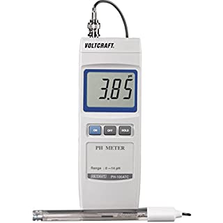 VOLTCRAFT ph-100 ATC pH Meter Digital PH 0 to 14 PH Calibrated Standard Factory