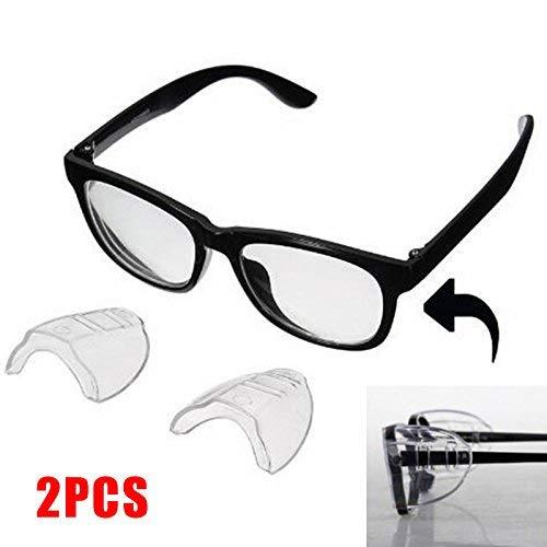 2 Protectores Laterales de Seguridad para Gafas
