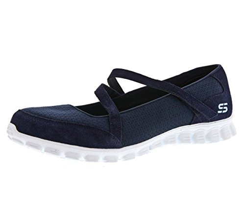 Skechers Ez Flex 2 A Game, Mary Janes femme Navy Aqua