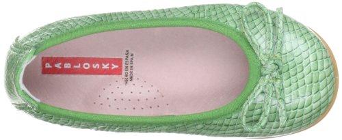 Pablosky 380698, Ballerines fille Vert - vert