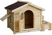 Jerarquía del animal doméstico / perrera / tamaños / madera / de perro / exterior casa a prueba de agua de lluvia / perro / perros y gatos jaula / S, M, L, XL