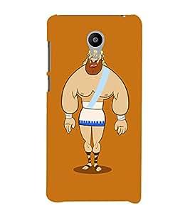 EPICCASE Greek Character Mobile Back Case Cover For Meizu M2 (Designer Case)