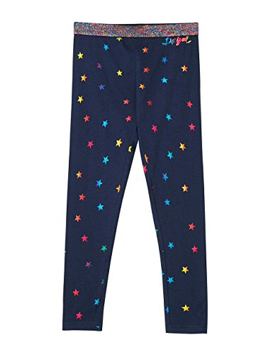 Desigual Legging_peumo leggings, Azul (Navy 5000), 140 (Talla del fabricante: Large) para Niñas