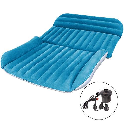 Osaloe SUV Luftmatratze, Auto Luftmatratze with Luftpumpe Dickere Auto Matratze aufblasbares Bett für Outdoor Camping Traveling
