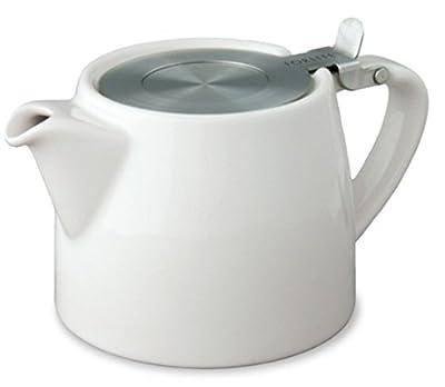 Blanc 18 cl (530 ml/2 tasses Par feuille) FORLIFE Théière avec infuseur