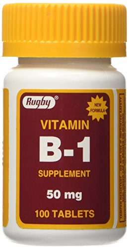 Vitamin B-1 TABS 50 MG ***RUG Size: 100 by RUGBY LABORATORIES