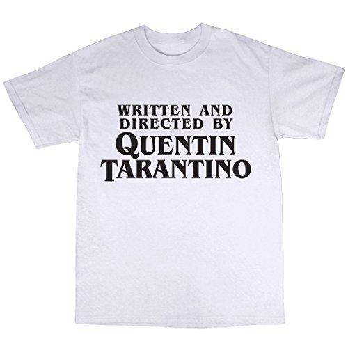 Quentin Tarantino Tribute T-Shirt 100% Baumwolle Weiß