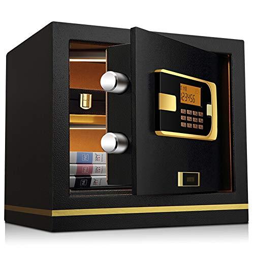 Caja Fuerte Digital,30L Cerradura de Teclado Electrónica Sólida de Caja de Seguridad, Oficina de Hotel...