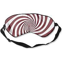 Red Rotating Stripes 99% Eyeshade Blinders Sleeping Eye Patch Eye Mask Blindfold for Travel Insomnia Meditation preisvergleich bei billige-tabletten.eu