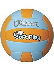 Beachvolleyball Wilson Super Softplay orange/blau