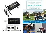 BODY BENCH Bodybank, Hantelbank für Ganzkörper-Workout, leicht, robust, zusammenklappbar, tragbar,...