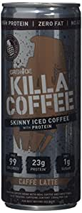 Grenade Killa Coffee Skinny Iced Coffee with Protein, 250 ml - Pack of 12