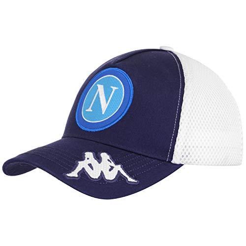 SSC Napoli Baseball Cap 1926 Unisex - Erwachsene weiß blau 912, 59 Ssc Cap