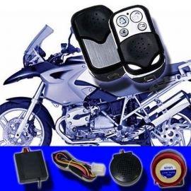 Motorrad/Roller Alarmanlage Funk Wegfahrsperre Fernstart Bike Quad LM-207A AL1-FBA