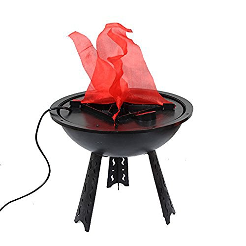 Wansheng Elektronische Brazier 30Cm Große Brazier Light Halloween Dekoration Licht Flamme Licht Campfire Night Kronleuchter, Künstliche Flamme Licht