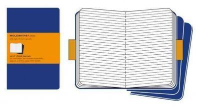 (Moleskine Ruled Cahier Journal X-Large, Blue) By Moleskine (Author) Hardcover on (06 , 2009)
