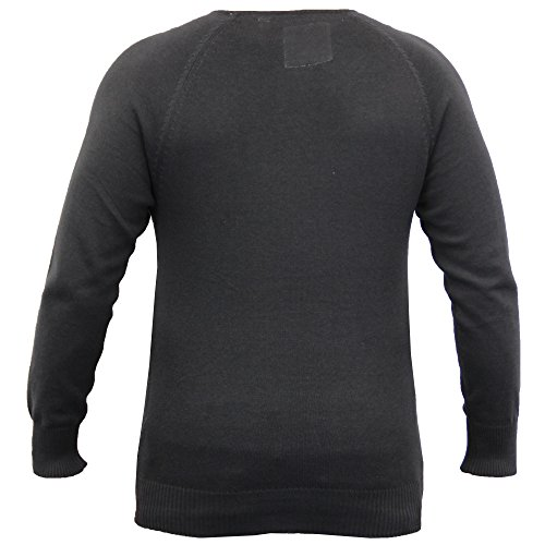 Pull Homme Soul Star Pull Tricot Pull Léger Hiver Décontracté Charbon - KELSONPKB