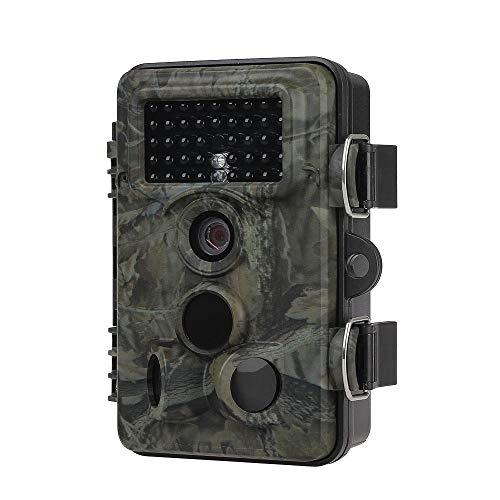 """Hofet Wildkamera, 12MP 1080P Full HD Jagdkamera Low Glow Infrarot 85ft/24m Nachtsicht Überwachungskamera 2.4"""" LCD IP66 Wasserdichte Nachtsichtkamera für Outdoor-Natur, Garten"""