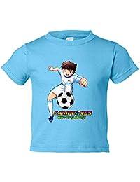 Camiseta niño Campeones Oliver y Benji gol 3ee2ecf4c7400