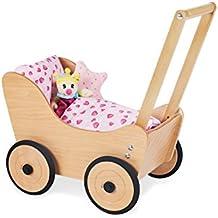 Puppenwagen Puppenwagen Holz Kinderwagen Babypuppen & Zubehör