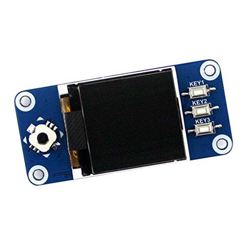 Preisvergleich Produktbild Level 128x128 1.44inch LCD Display HAT SPI-Erweiterungsplatine für Raspberry Pi Zero / Zero-W / Zero-WH / 2B / 3B / 3B