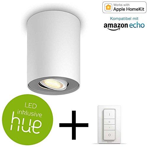 Philips Hue White Ambiance Pillar Led Aufbaustrahler 1er Spot Inkl