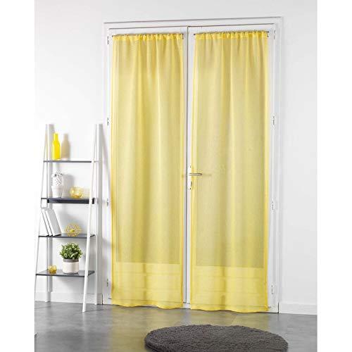 Douceur d' interno coppia destra passante vela sabbia righe pointille giallo, poliestere, grigio, 240x 70cm