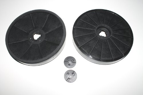 EVH-XTRA® Kohlefilter Miele DKF 7 Aktivkohlefilter (1 Paar) Abzugshaube