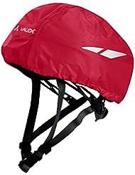 VAUDE Niños Kids Helmet Rain Cover Funda Para Casco, Indian Red, One size