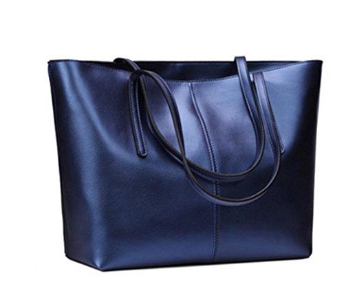 Zxh Nuove Borse In Pelle In Pelle Moda Europea E Americana Semplice Shopping Bag Alta Capacità Borsa A Tracolla Borsa C