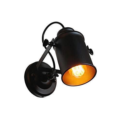 Lámpara de pared para porche Jorunhe vintage industrial rústica