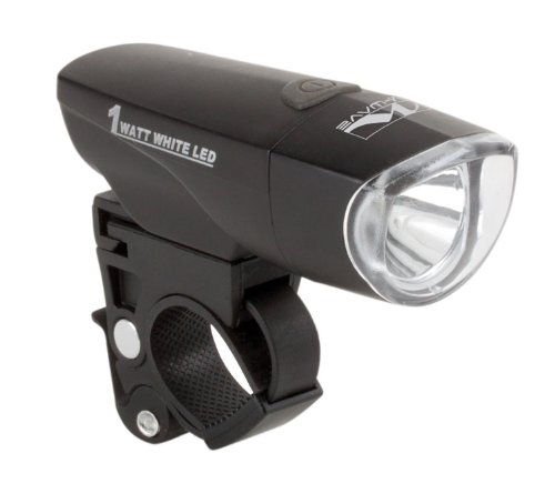 M-Wave Batterielampe Apollon 1.3 1 Watt (1 Watt Led Fahrrad Licht)