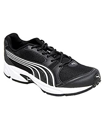 Puma Men's Black-White Synthetic Running Shoes (18845801) - 11UK/India (46EU)