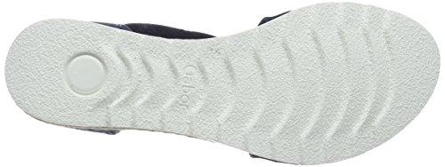 Zapatos Gabor 62.711, Sandali Donna Blu (yute Azul Marino)