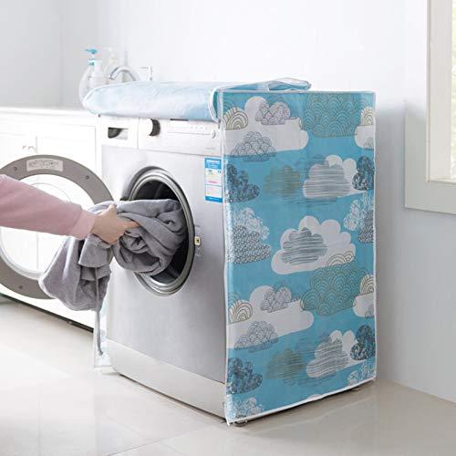 PANGUN wasserdichte Waschmaschine Decken Staubdeckmaschine Protective Case-4