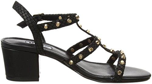 Dune Melisandra, T-Bar Heels Femme Noir (Black)