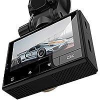 Xwly-Dr Coche Dash CAM Full HD 1080P Mini Cámara 2,45 Pulgadas IPS
