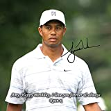 Tiger Woods - Masters Golf 1 Personalised Gift Print Mouse Mat Autograph Computer Rest Mouse Mat Compatible with Laser and Optical Mice (No Personalised Message)