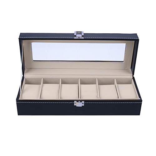 WOSHINIMA Slot Uhr Display Box Schmuck Aufbewahrungsbox Manager Kassette Abdeckung Fall Schmuck Uhr Display Halter Veranstalter