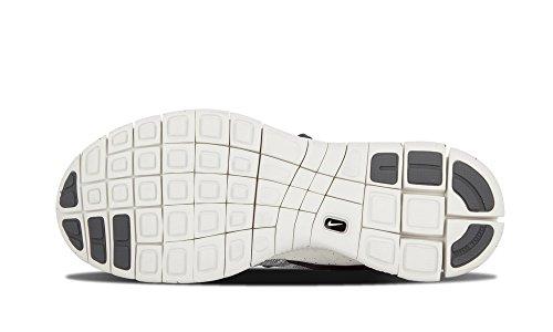 Nike Herren Free Flyknit Mercurial Fußballschuhe, Grau Versilbert / Weiß (Pr Pltnm / Smmt Wht-Drk Gry-Obsd)