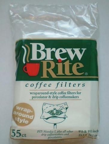 Brew Rite Wrap Around Coffee Filters by Rockline