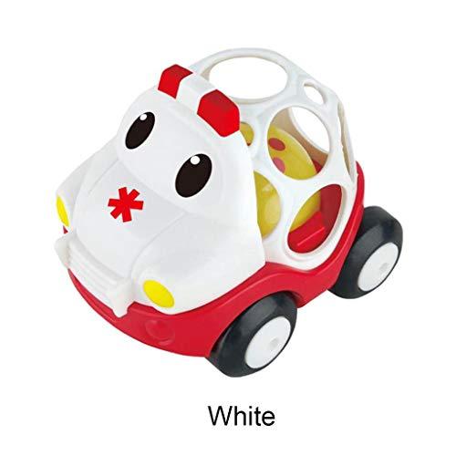 Mitlfuny Kinder Erwachsene Entwicklung Lernspielzeug Bildung Spielzeug Gute Geschenke,Pädagogische Spielwaren der frühen Kindheit mit Auto-Baby-Beißring-Spielzeug