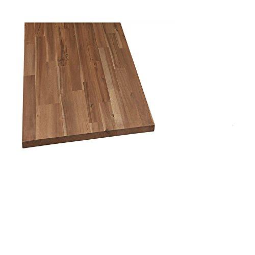 Möbelbauplatte Regalbrett Leimholz Akazie geölt 1200 x 200 x 18 mm